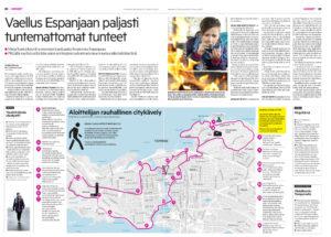 aamulehti kävelijä kirjailija mirja kärnä yritysluennot TYHY-päivät työhyvinvointi